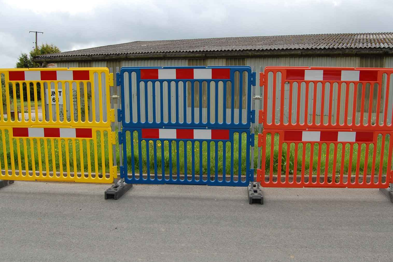 EnduraFence Coloured Barriers